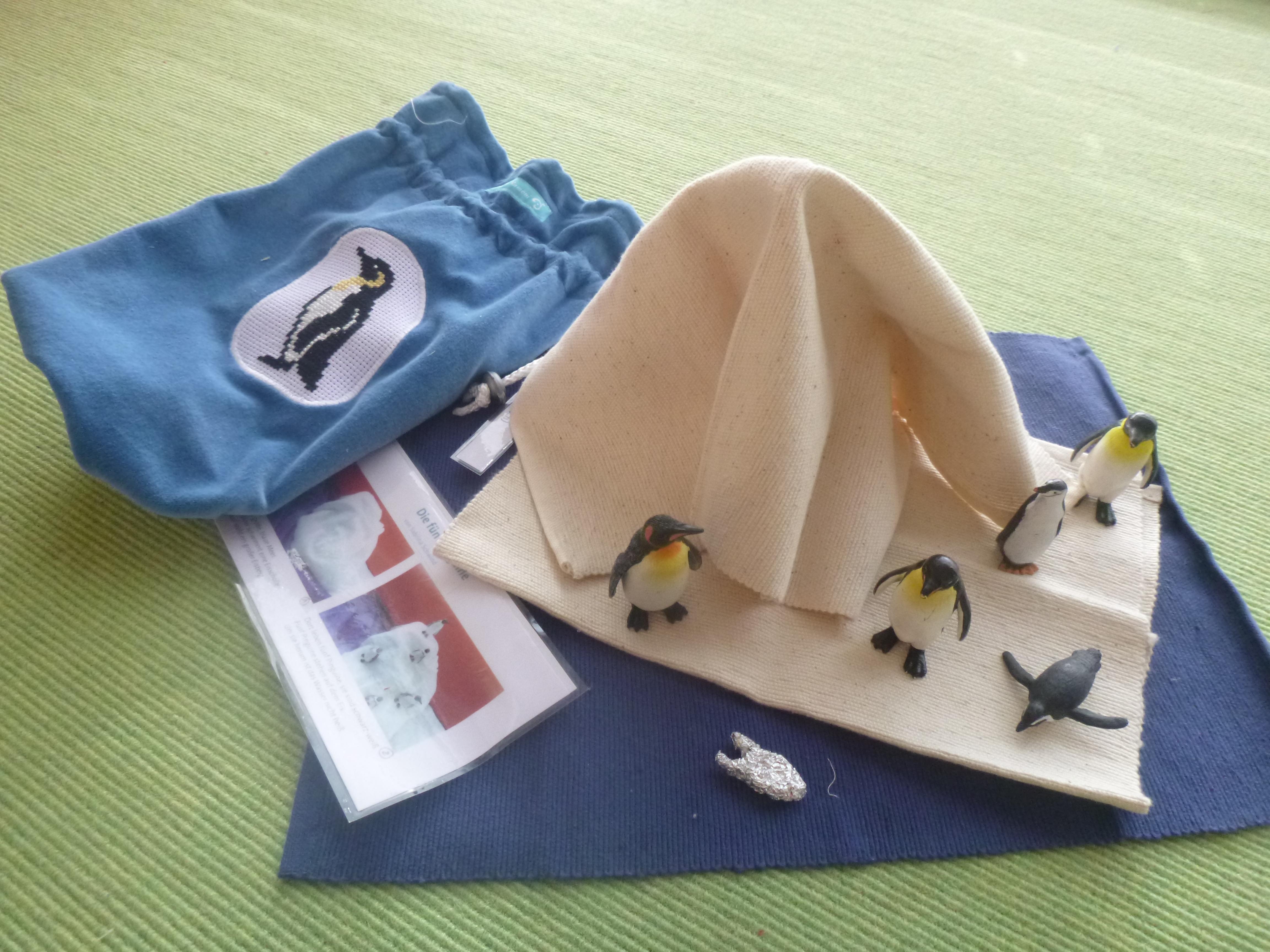 5 pinguine